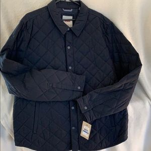 Quilted Navy Jacket